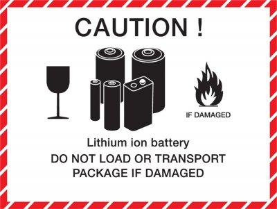 Lithium Batterien Warnhinweise